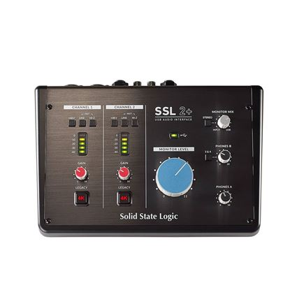Solid State Logic SSL 2+ Studio USB Audio Interface - Front