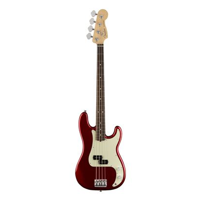 Fender American Professional Precision Bass Guitar - Rosewood Fretboard - Candy Apple Red - Front