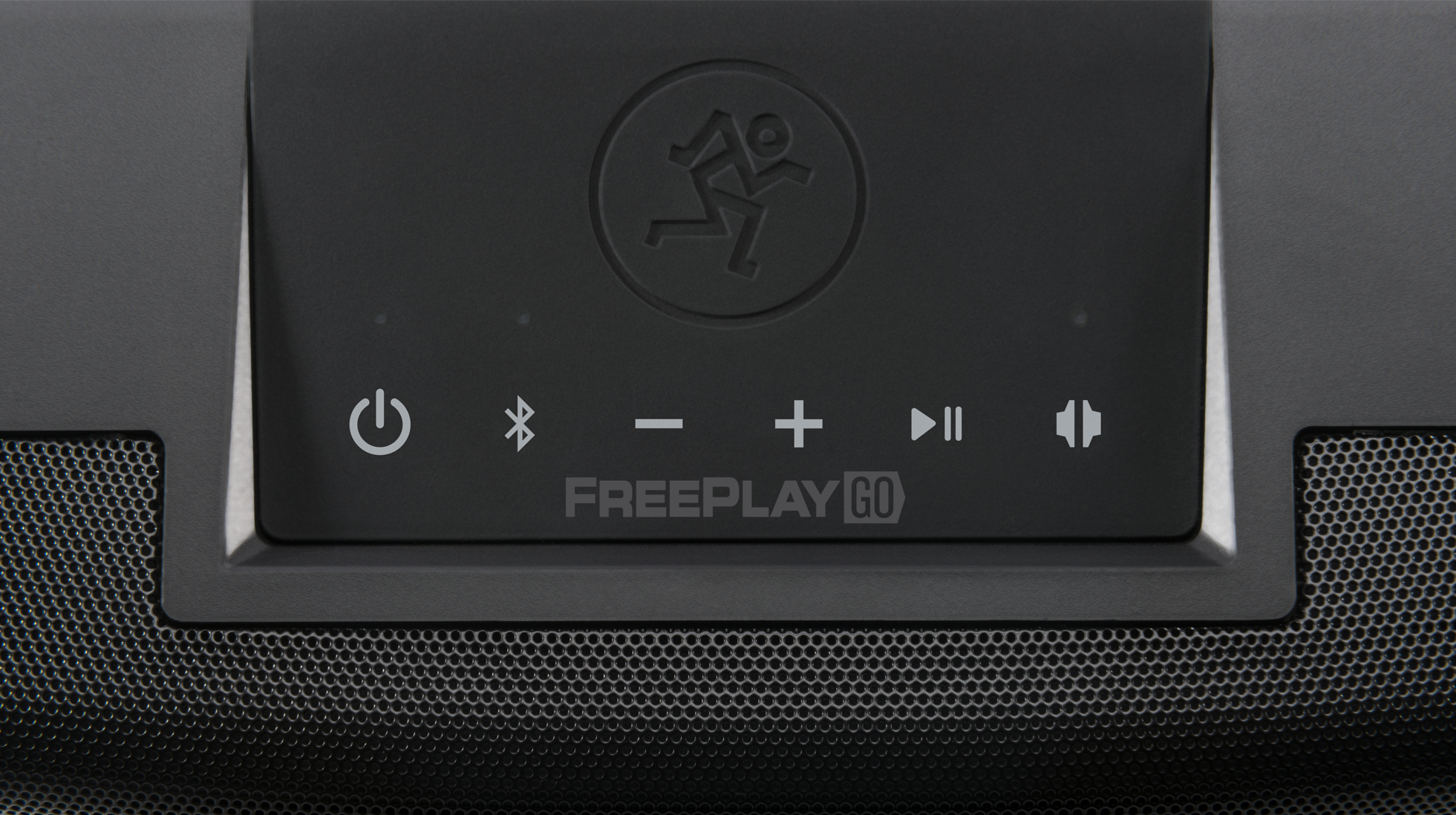Mackie FreePlay GoUltra-Compact Portable Bluetooth Speaker - Close up