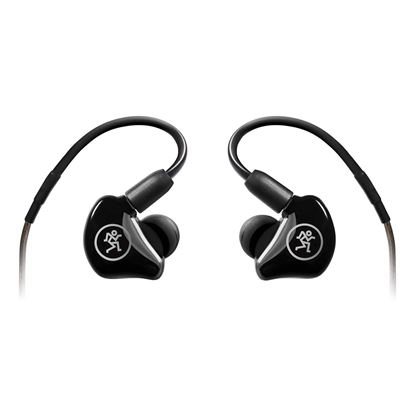 Mackie MP-220 Dual Dynamic Driver Professional In-Ear Monitors - Back