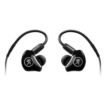 Mackie MP-240 Dual Hybrid Driver Professional In-Ear Monitors - Back