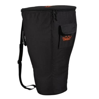 """Remo DJ-0012-BG Deluxe Djembe Bag Heavy Duty Black Nylon Waterproof Yarn Suits 10"""" - 12"""""""