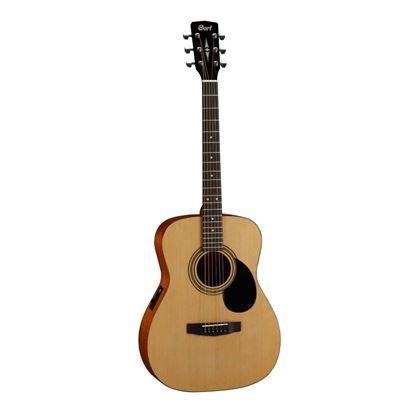 Cort AF510E OP Folk Guitar with Pickup in Open Pore Natural - Front