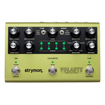 Strymon Volante Magnetic Echo Machine Guitar Effects Pedal - Top