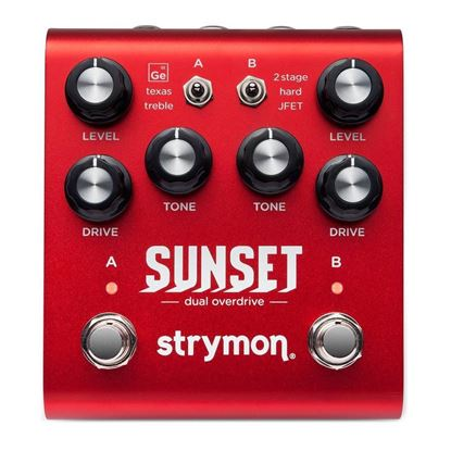 Strymon Sunset Dual Overdrive Guitar Effects Pedal