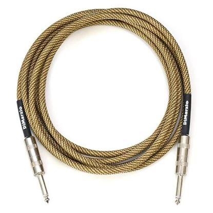Dimarzio EP1710VT 10 Foot Pro Guitar Cable - Vintage Tweed