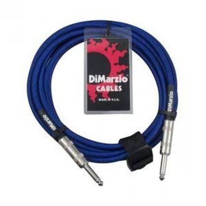 Dimarzio EP1718EB 18 Foot Pro Guitar Cable - Electric Blue