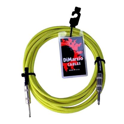 Dimarzio EP1718NG 18 Foot Pro Guitar Cable - Neon Green