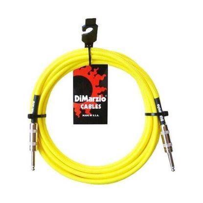 Dimarzio EP1718NY 18 Foot Pro Guitar Cable - Neon Yellow