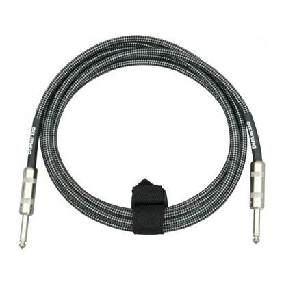 Dimarzio EP1710BG 10 Foot Pro Guitar Cable - Black & Grey