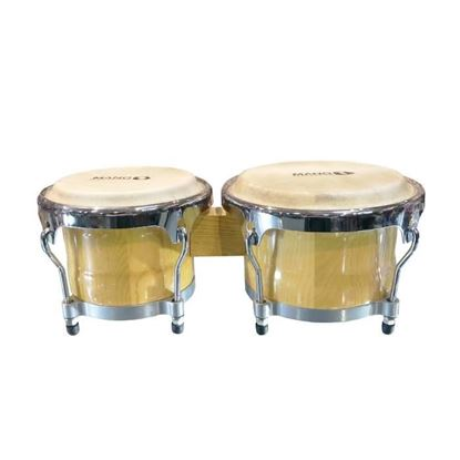 Mano Percussion MP1769 7inch & 8½inch Cuban Bongos - Natural