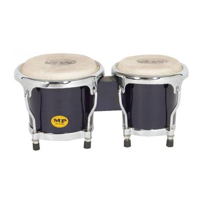 Mano Percussion MP560BK Junior Tunable Bongos - Black