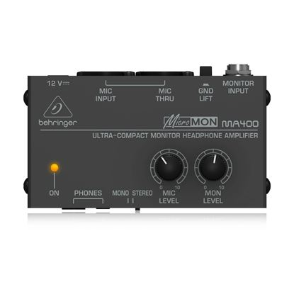 Behringer MA400 MicroMon Headphone Amp - Top