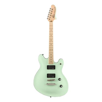 Squier Contemporary Active Starcaster Electric Guitar - Maple Neck - Surf Pearl
