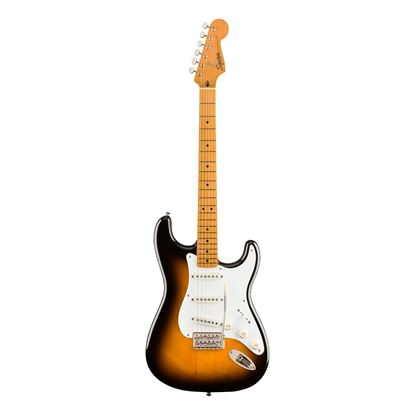 Squier Classic Vibe 50s Stratocaster Electric Guitar - Maple Neck - 2-Colour Sunburst - Front