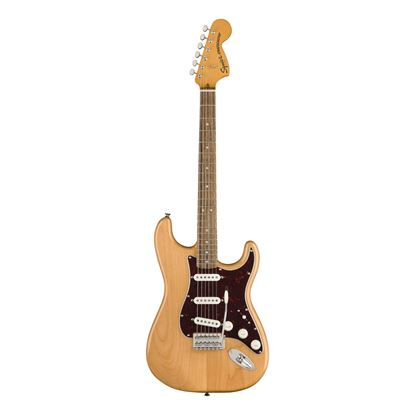 Squier Classic Vibe 70s Stratocaster Electric Guitar - Laurel Fretboard - Natural - Front