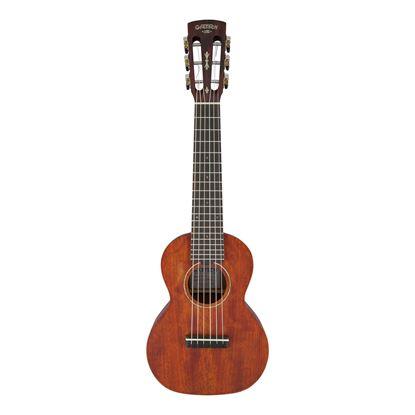 Gretsch G9126 Guitar Ukulele with Gig Bag - Honey Mahogany Stain - Front