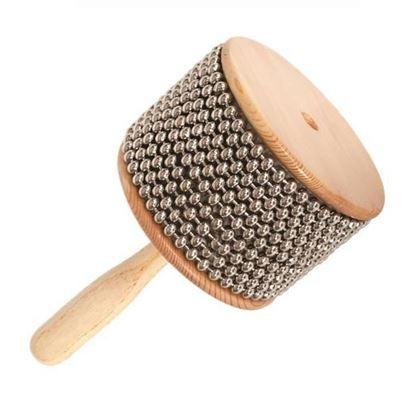 "Mano Percussion Cabaza 7"" x 4½"" 10 Rows of Ball Bearings"
