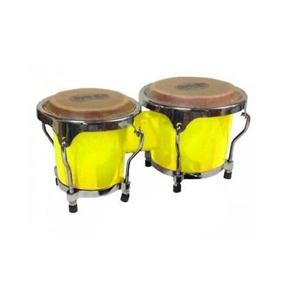 Mano Percussion MP560Y Junior Tunable Bongos - Yellow