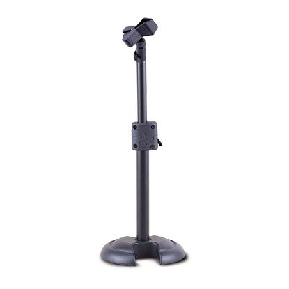 Hercules MS100B Short Straight H-Base Mic Stand