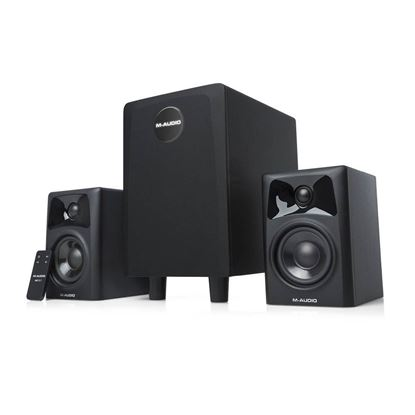M-Audio AV321 Desktop Powered Media Monitors - Front