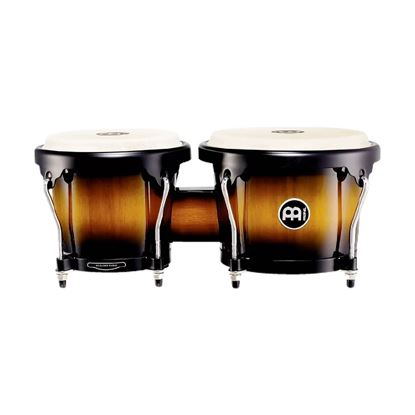 Meinl HB100VSB 6 3/4 & 8in Headliner Series Wood Bongos in Vintage Wine Barrel