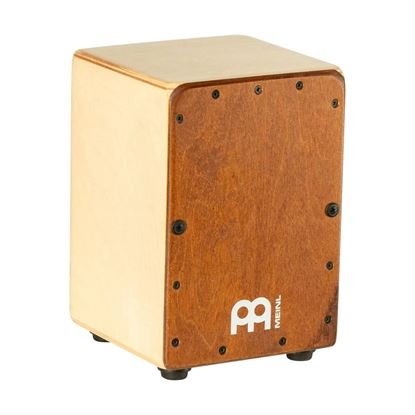 Meinl CJ-MC1AB Mini Cajon with Almond Birch Frontplate - Front Angle