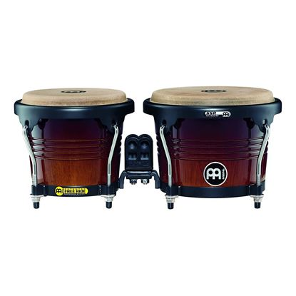 Meinl FWB190CB 6 3/4 & 8in Free Ride Series Wood Bongos in Coffee Burst