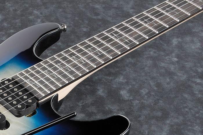 Ibanez JIVAJR DSE Nita Strauss Signature Model Electric Guitar - Fretboard