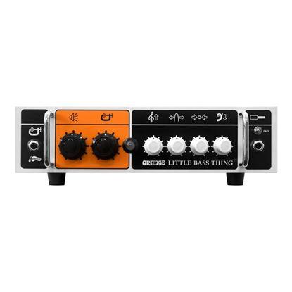 Orange Little Bass Thing Bass Head 500W Class D - Front