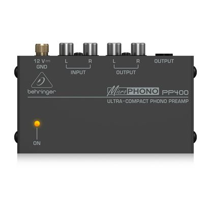 Behringer PP400 MicroPhono Preamp - Front