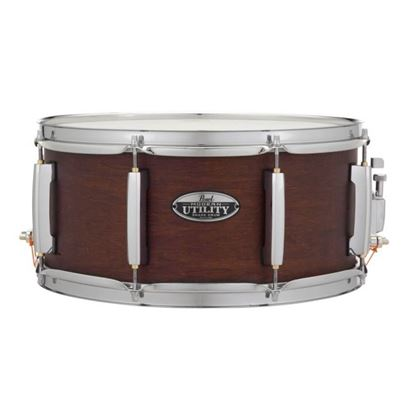 Pearl MUS1455M-220 Modern Utilty 14 x 5.5inch Maple Snare Drum in Satin Brown