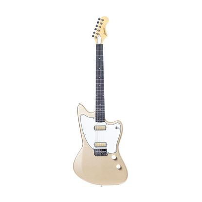 Harmony Silhouette Electric Guitar in Champagne - Front