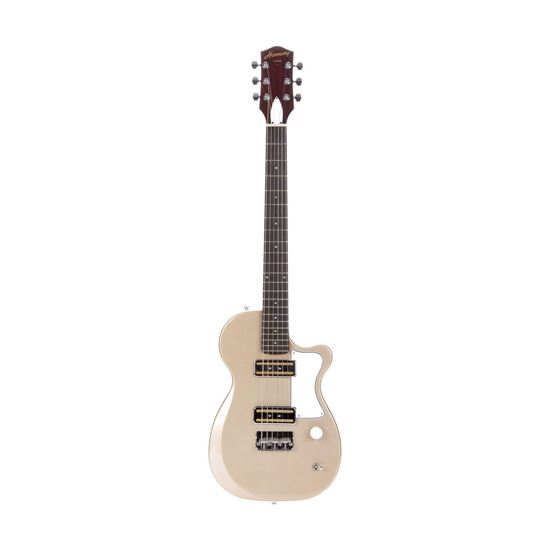 Harmony Juno Electric Guitar in Champagne - Front