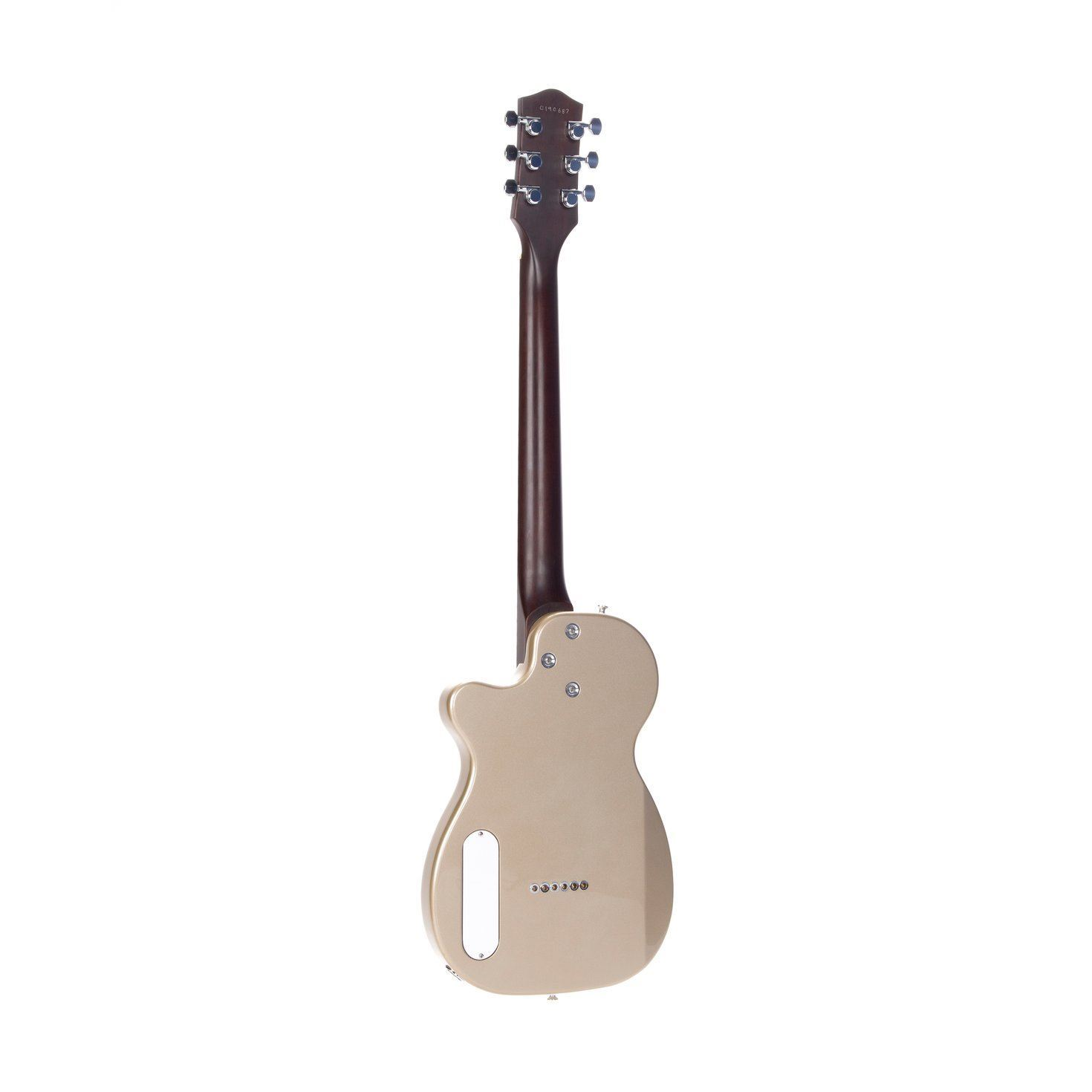 Harmony Juno Electric Guitar in Champagne - Back