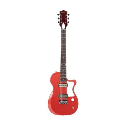 Harmony Juno Electric Guitar in Rose - Front
