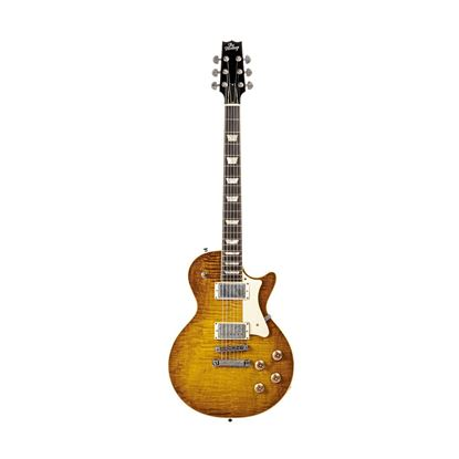 Heritage Artisan Aged Collection H-150 Electric Guitar in Dirty Lemon Burst - Front