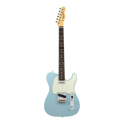 Fender MIJ Hybrid 60's Telecaster Electric Guitar with Rosewood Fingerboard in Sonic Blue - Front