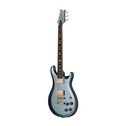 PRS S2 McCarty 594 Thinline Electric Guitar in Frost Blue Metallic