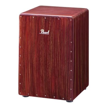 Pearl PCJ-633BB Boom Box Cajon in Artisan Red Mahogany Red Sparkle - Front
