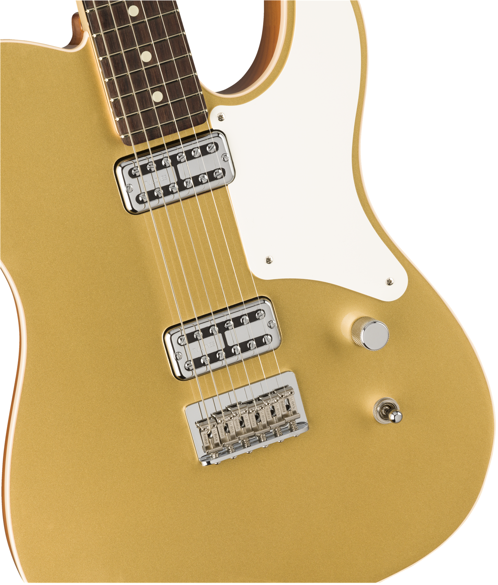 Fender Cabronita Telecaster Limited Edition Electric Guitar with Rosewood Fingerboard in Aztec Gold - Body