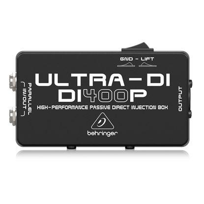 Behringer Ultra-Di DI400P Di Box - Front