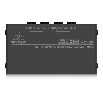 Behringer MicroHD HD400 Hum Destroyer - Front