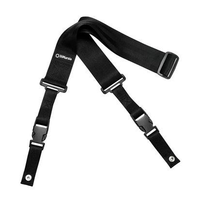 DiMarzio DD2200B 2inch Nylon Cliplock Strap - Black