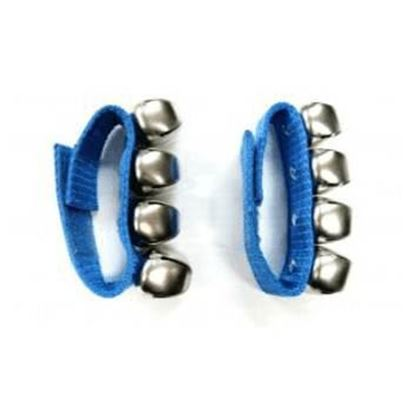 Mano Percussion ED379B Wrist Bells - Blue