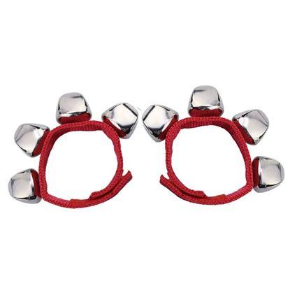 Mano Percussion ED379R Wrist Bells - Red