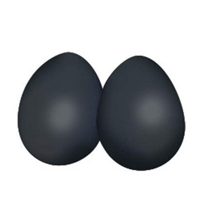 Mano Percussion Egg Maracas - Black