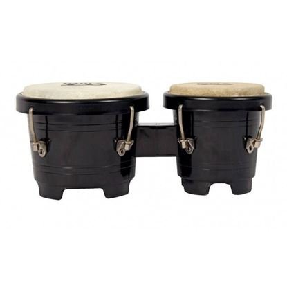 Mano Percussion TDK16B Tunable Mini Bongos - Black