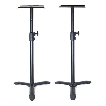 AVE SS110 Studio Monitor Stands - Pair (Max Load 50kg) - Front