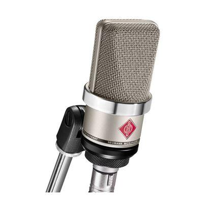 Neumann TLM102 Studio Condenser Microphone w/ Ring Mount - Nickel